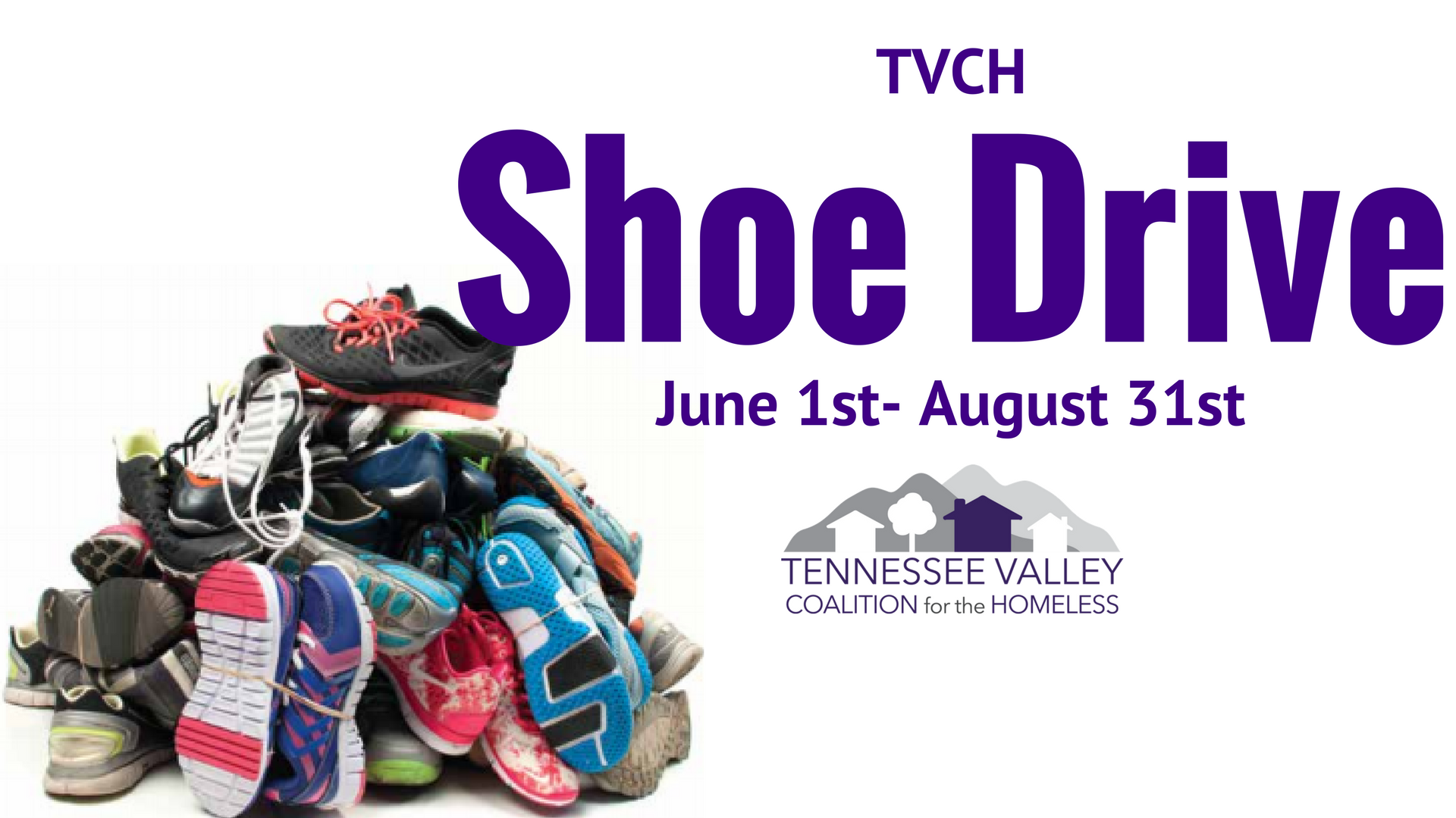 Shoe Drive FB Cover